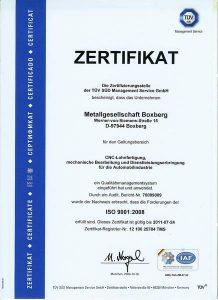 Metallbaugesellschaft_Boxberg_Scelle_Startseite_Zertifikat