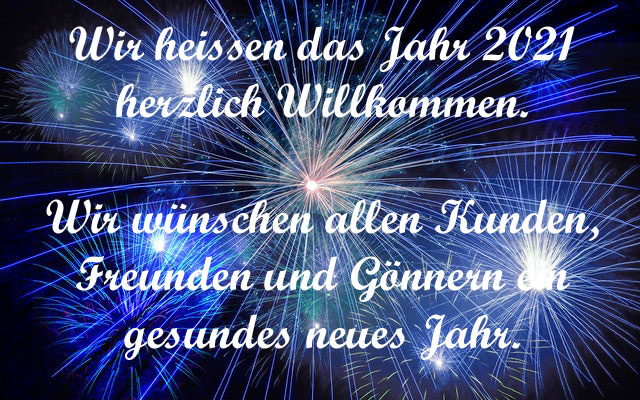 Heinz Heitzmann - Neujahrswünsche